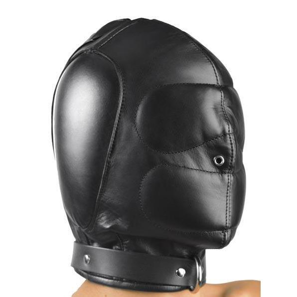 Padded Leather Hood from Strict Leather