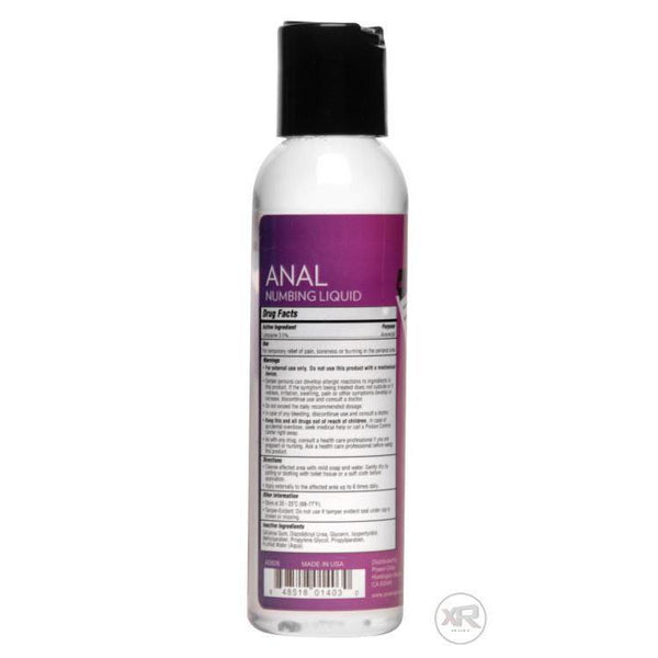 4oz Power Glide Anal Numbing Lube