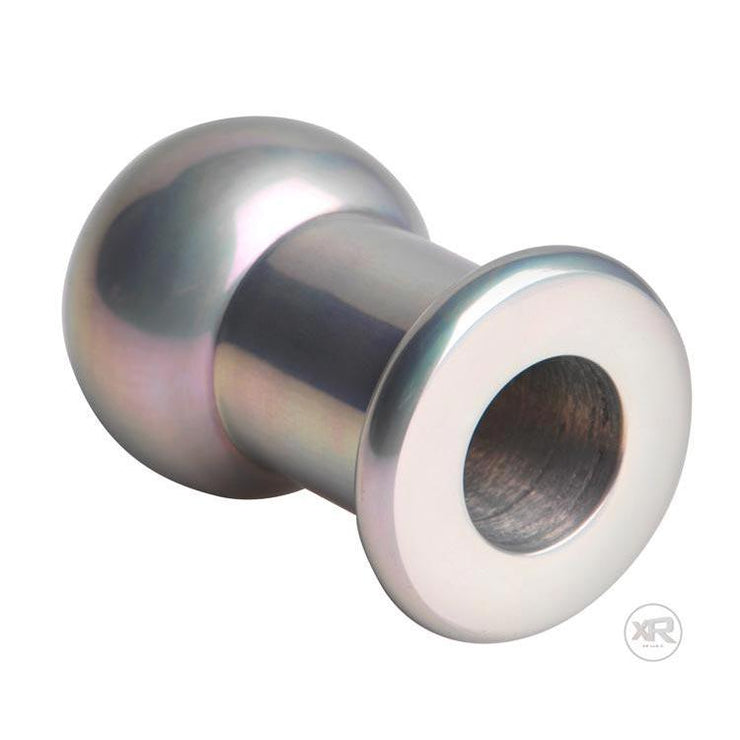 Hollow Aluminum Anal Plug - Small/Medium