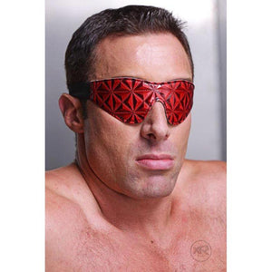 Crimson Tied Embossed Blindfold
