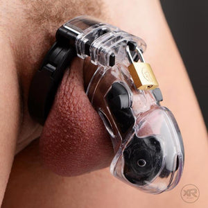 Electro Lockdown Estim Male Chastity Cage