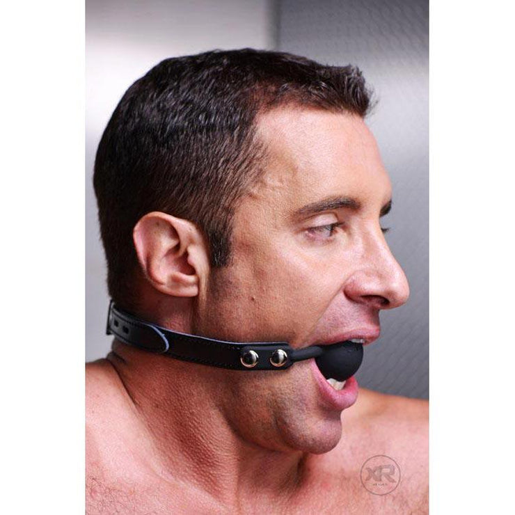 Premium Hush Locking Silicone Ball Gag