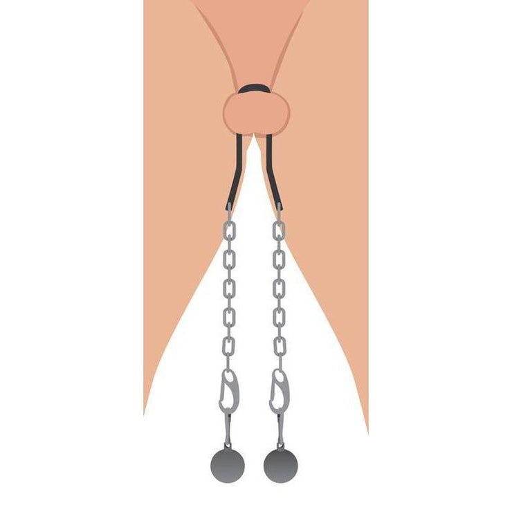 Metal Ball Stretcher with Chains