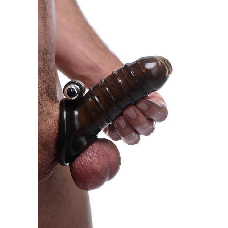 Vibrating Girth Enhancing Sheath
