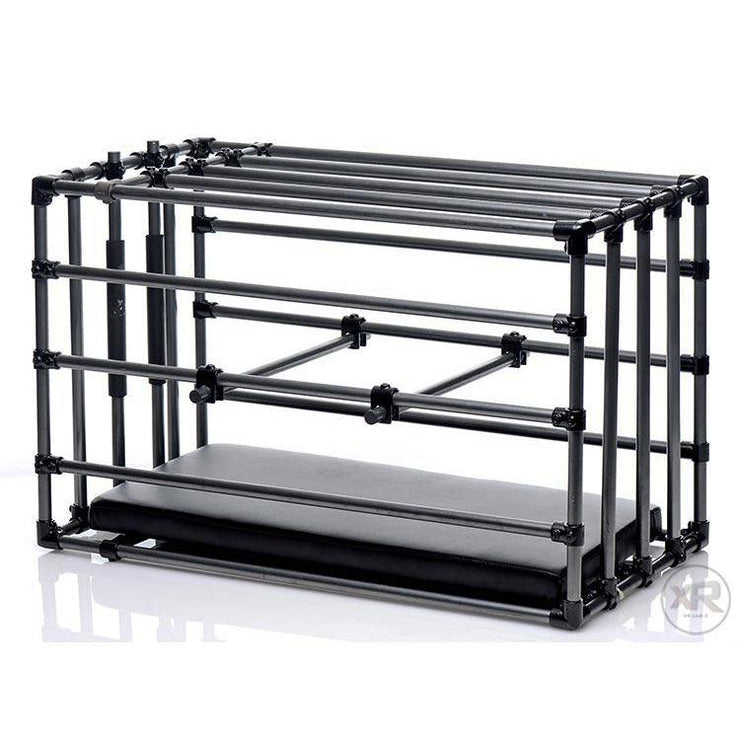 Kennel Adjustable Puppy Cage with Padded Board