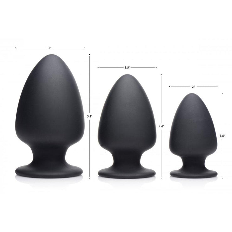 Squeezable Silicone Anal Plug