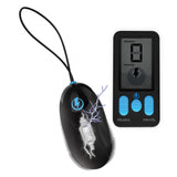 E-Stim Pro Silicone Vibrating Egg with Remote Control