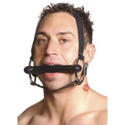 Strict Leather Locking Silicone Trainer Bit Gag
