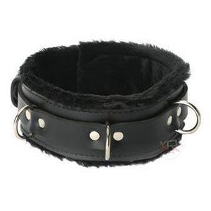 Strict Leather Premium Fur Lined Locking Collar