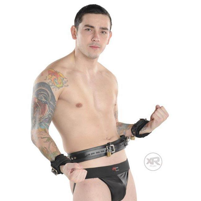 Deluxe Locking Bondage Belt