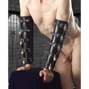 Premium Leather Locking Arm Splints