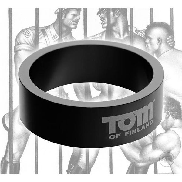 Tom of Finland 50mm Aluminum Cock Ring
