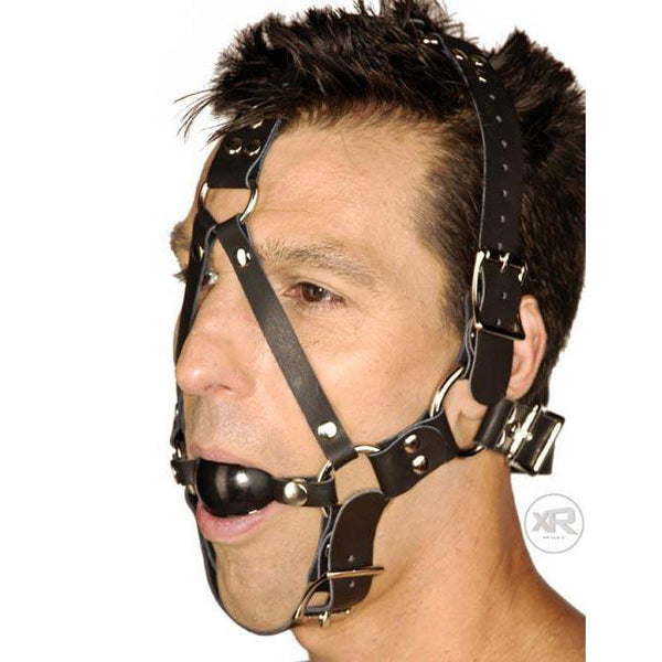 Strict Leather Ball Gag Harness
