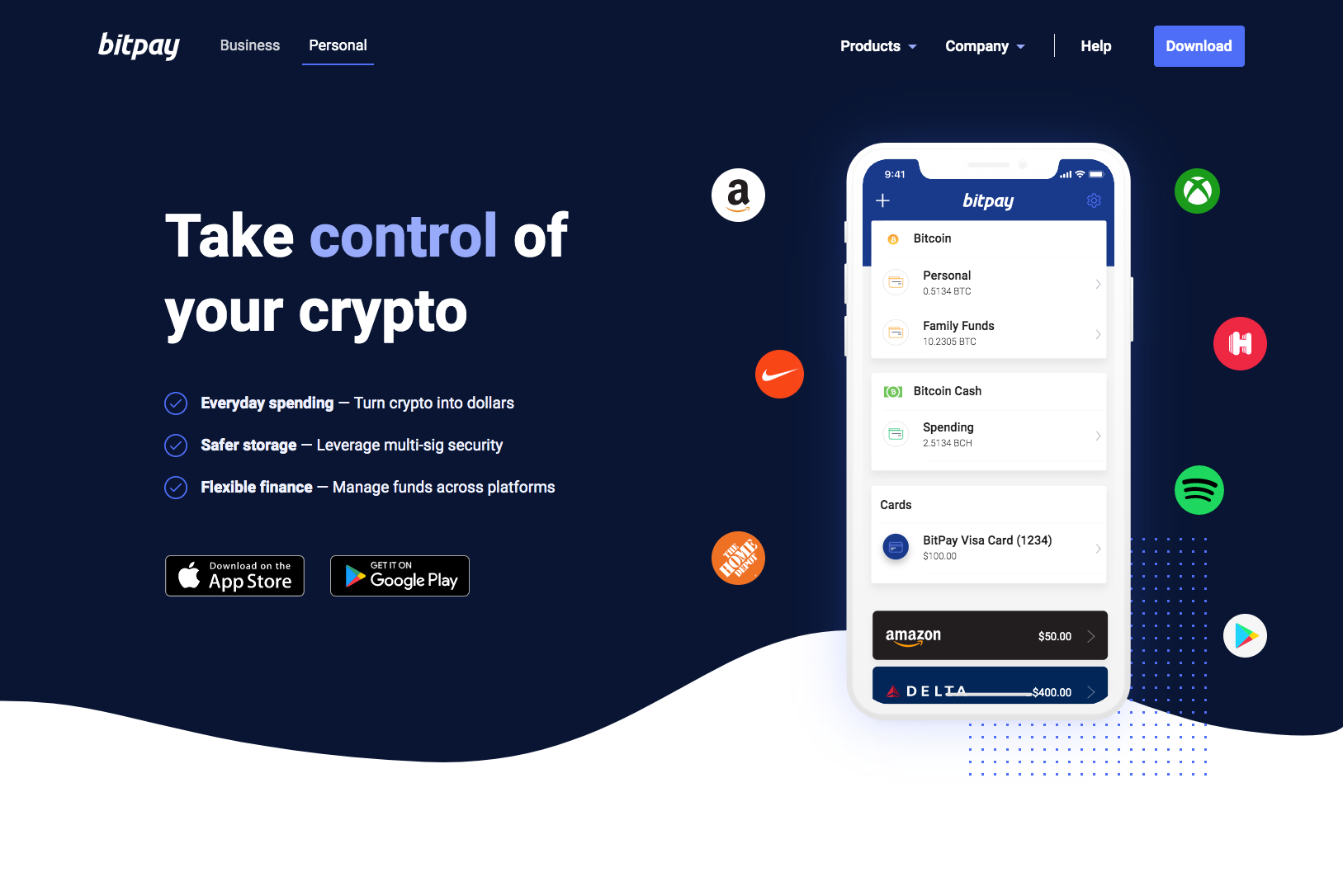 Fund Your Redeeem Account with BitPay