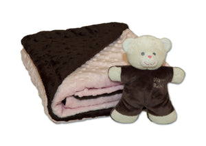 Baby Blanket Set with mini pet