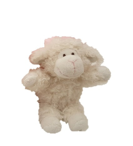 Miniature wooly lamb stuffed animal