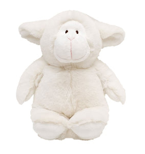 white sheep stuffed animal toy