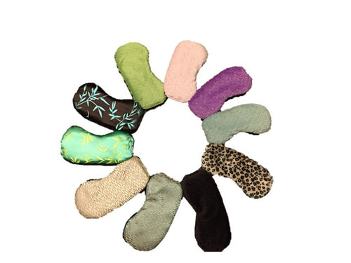 Color collection circle of warm sleep masks by Warm Buddy