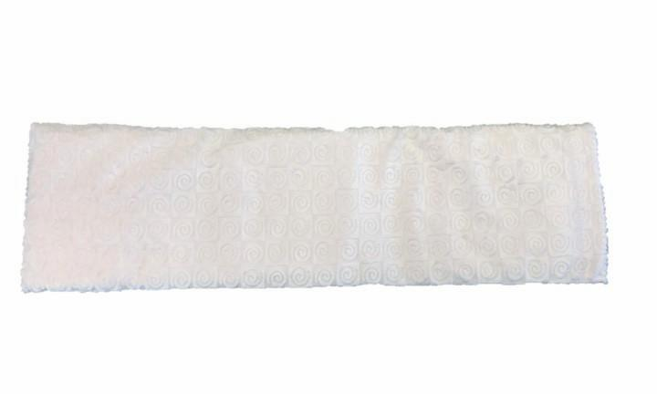 Spa wrap - top view -long rectangle shoulder heating pad 7