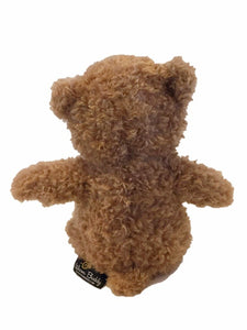 "Tan Little Buddy Beary-microwave heated teddy bear 11""- back view"