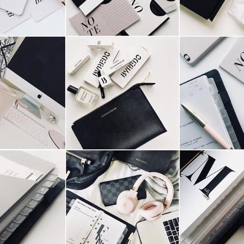 Curating an Aesthetic Planner Instagram Feed