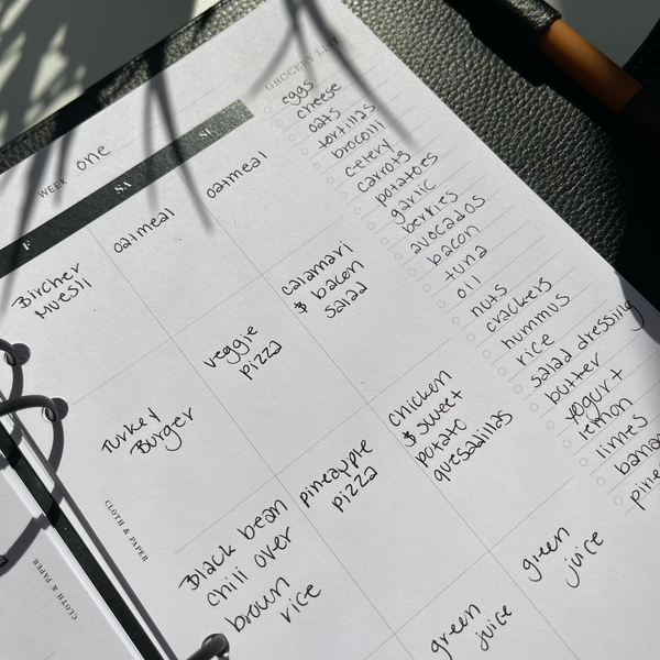 Recipe & Meal Planning with C&P