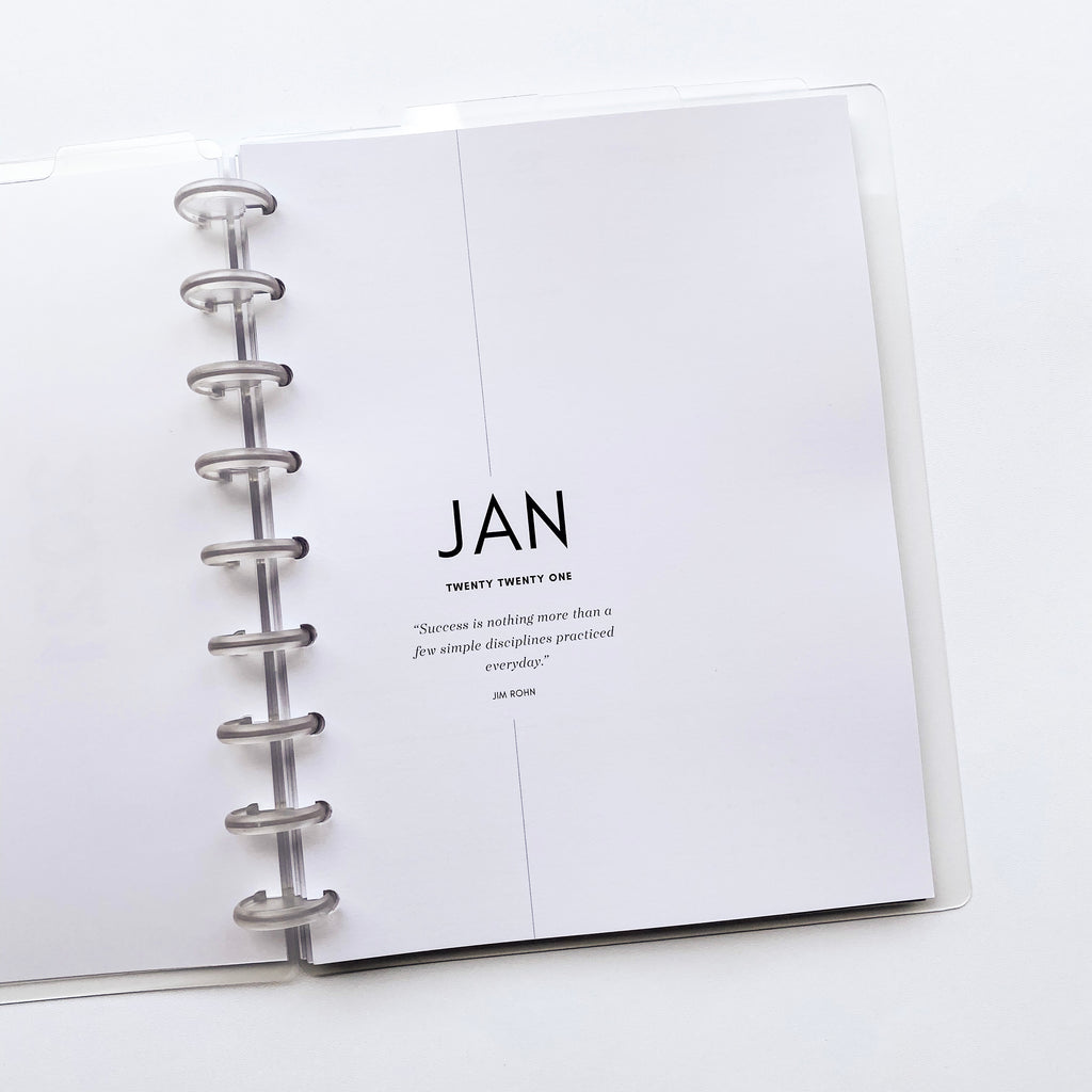 2021 DATED PLANNER INSERTS | DAILY