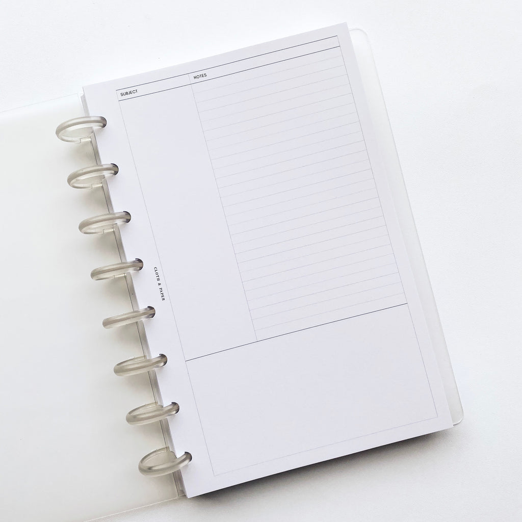 !NEW! Cornell Style Note Inserts | Updated Design