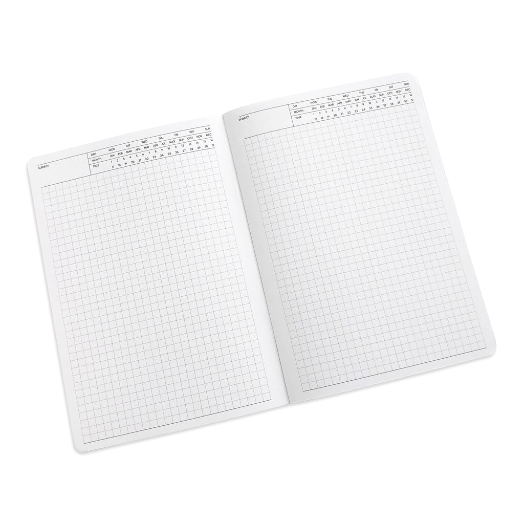 Executive Notes Notebook | Graph Paper | A5 | Cloth & Paper