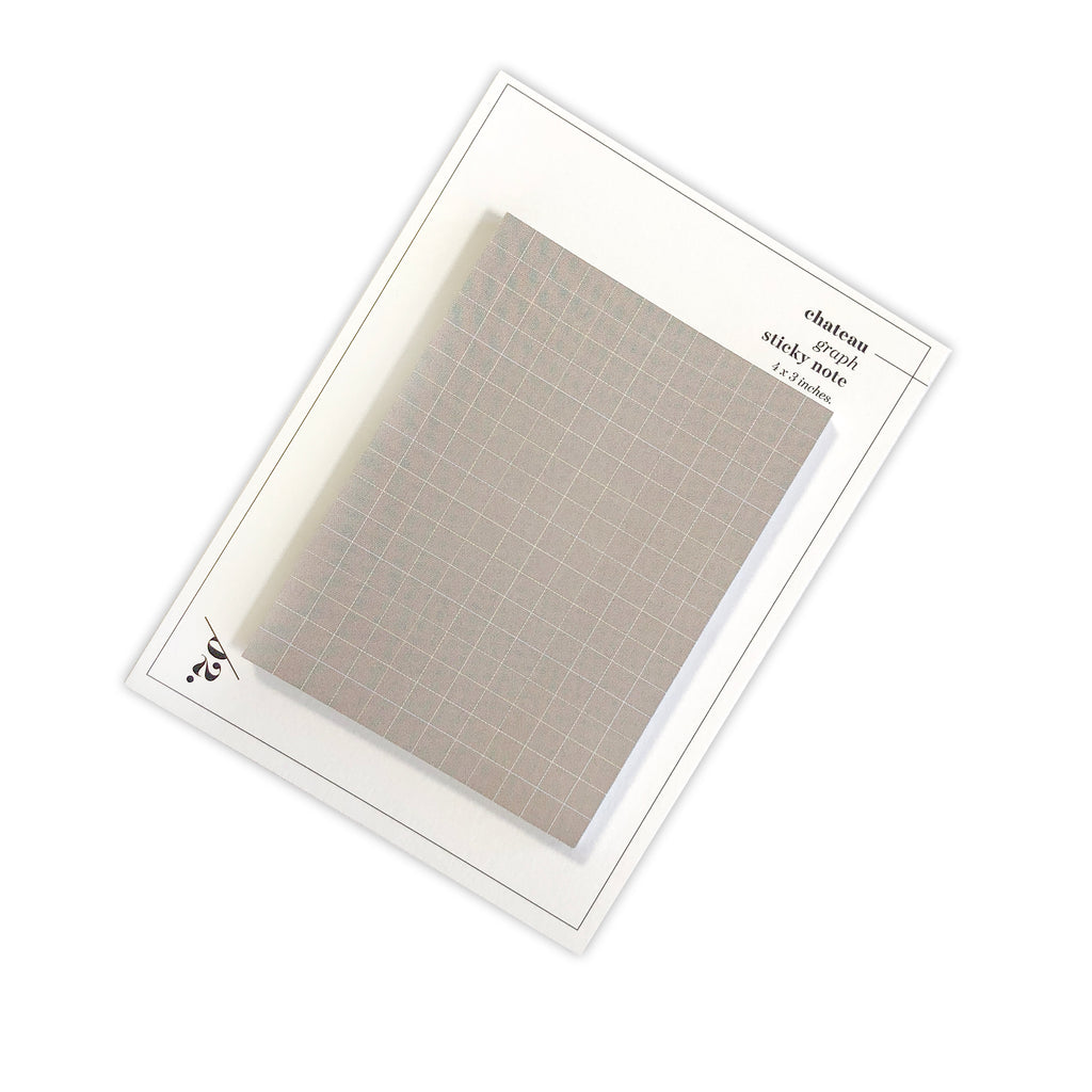 Graph Sticky Notes | Chateau | Cloth & Paper