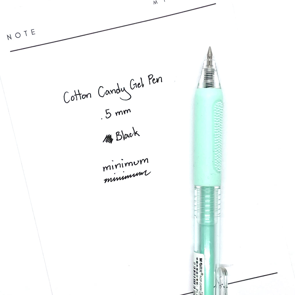 Cotton Candy Gel Pen | Green