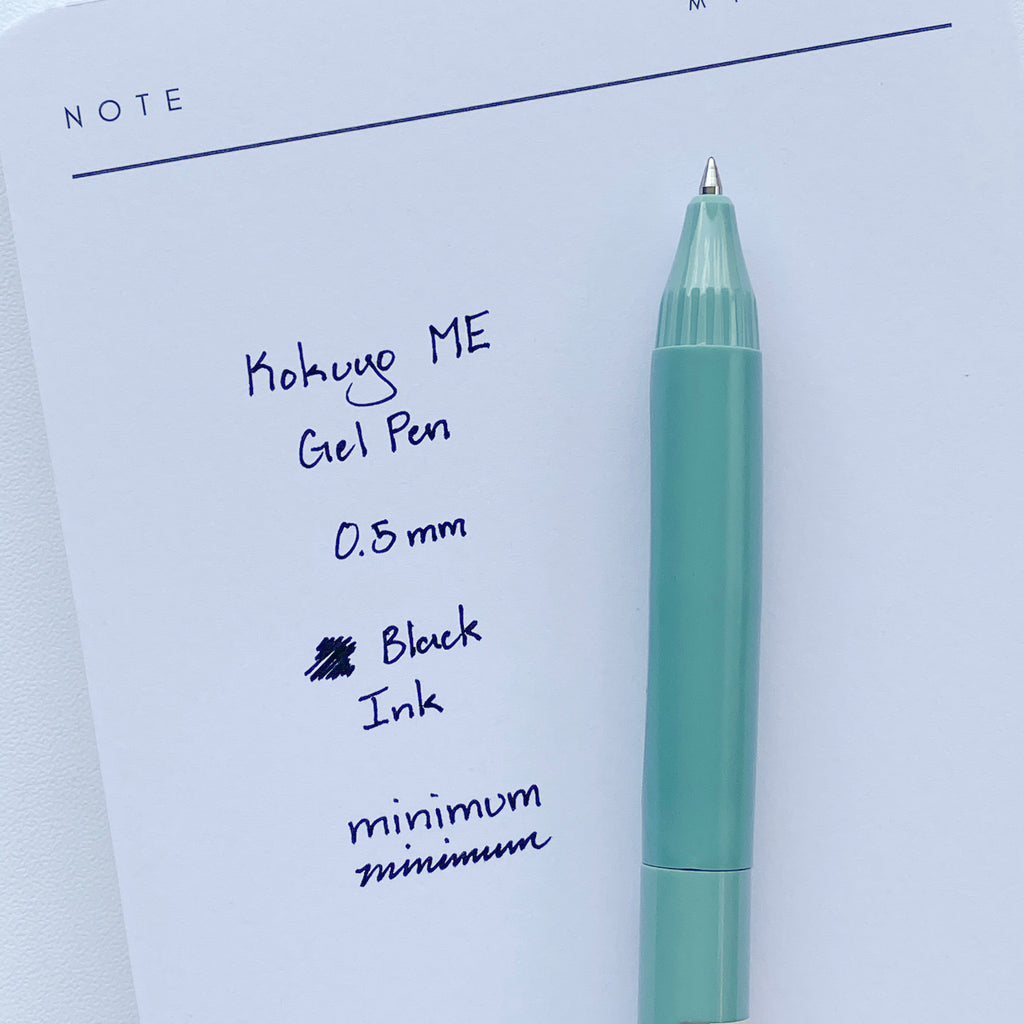 Kokuyo ME Gel Pen | Smoky Sky
