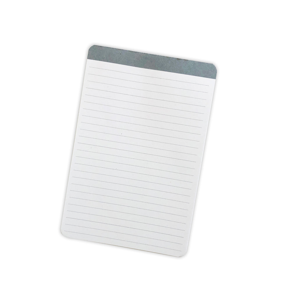 Lined Color Bar Notepad | Fog | Cloth & Paper