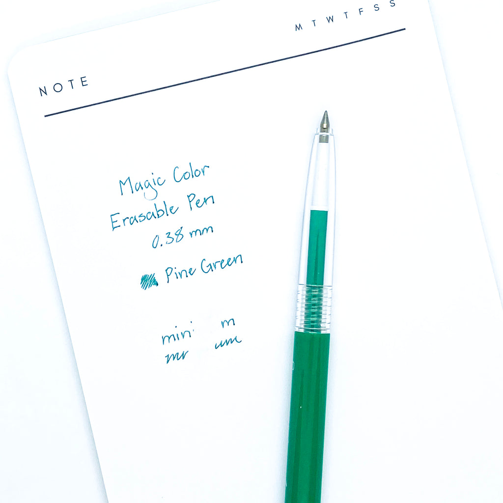 Magic Color Erasable Pen | Pine Green