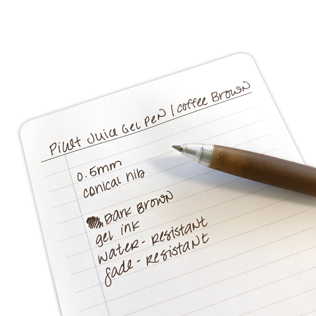 Pilot Juice Gel Pen | Coffee Brown | Cloth & Paper