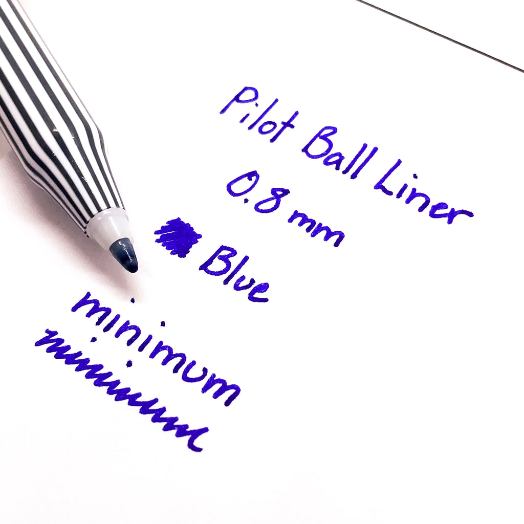 PILOT BALL LINER PEN | BLUE