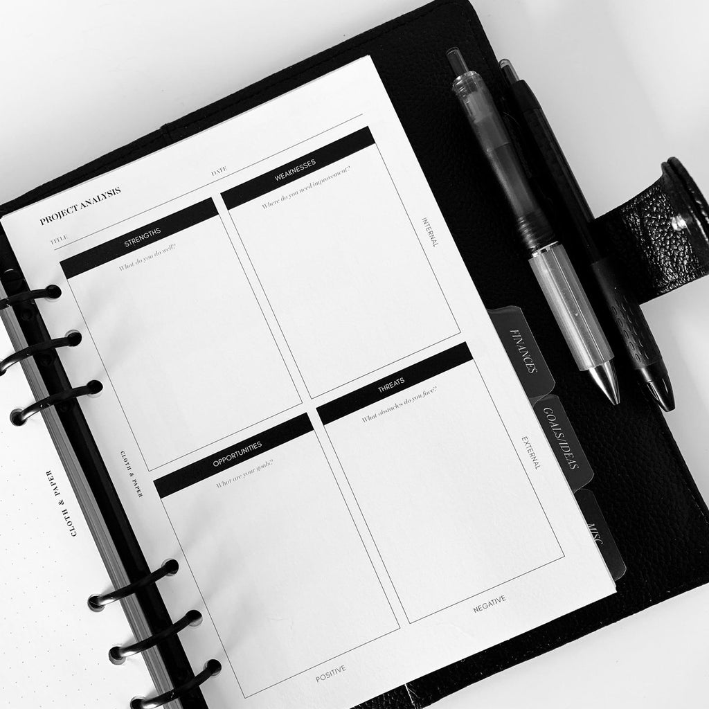 A5 20-Ring Binder System