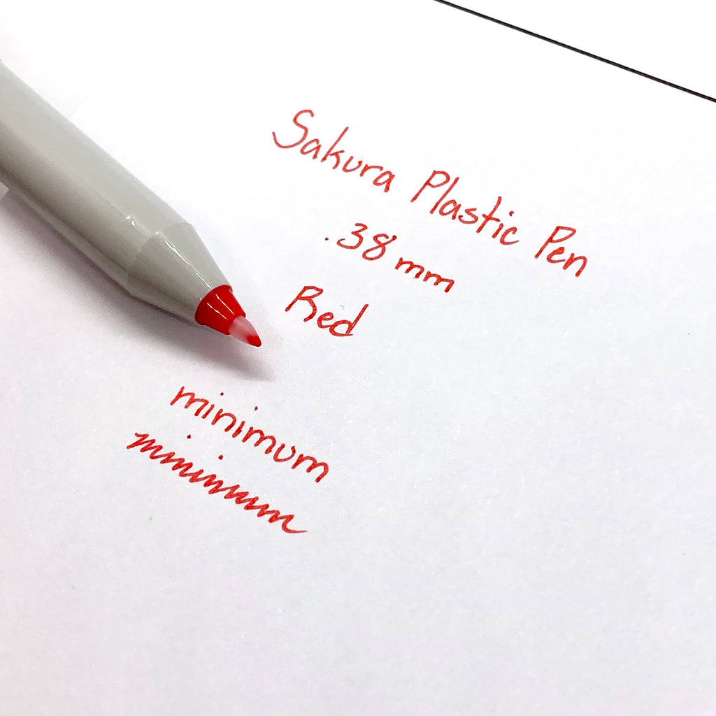 Sakura Plastic Pen | Red