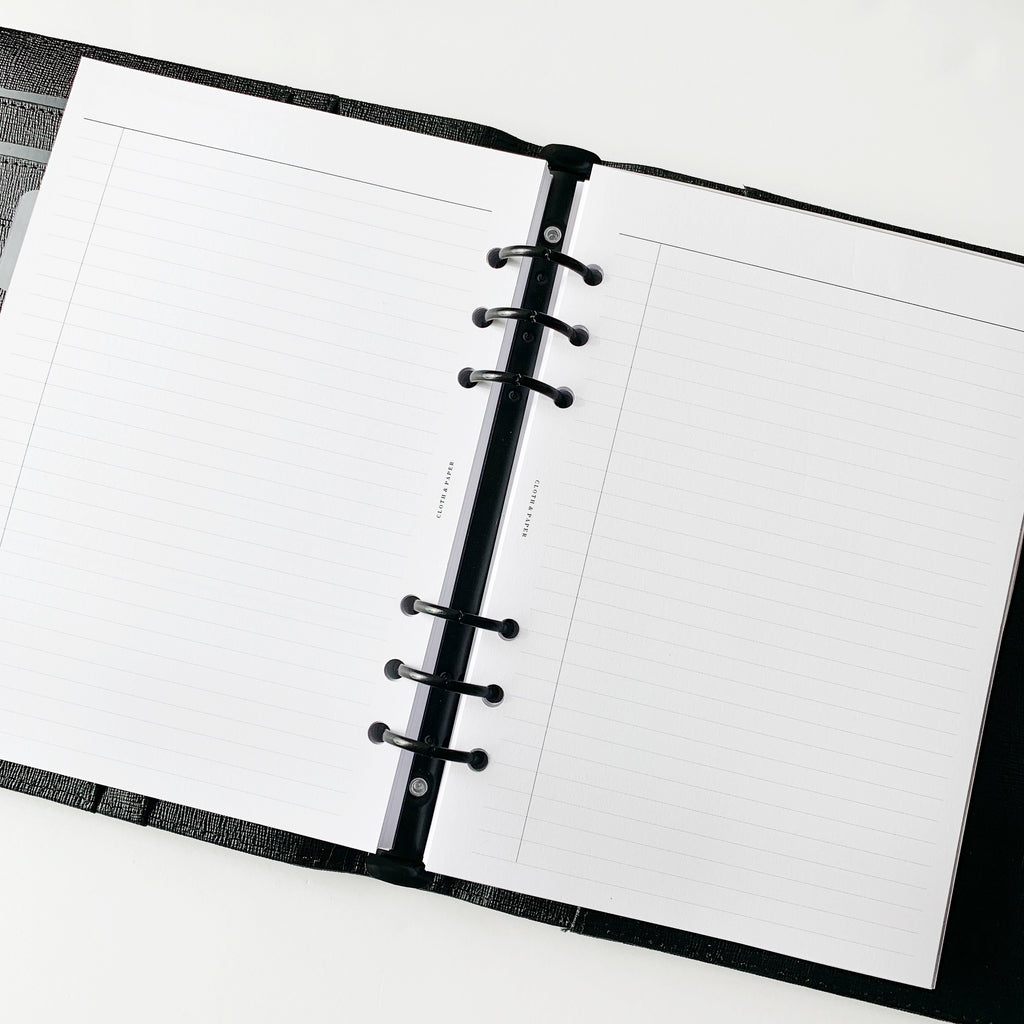 Task Planner Inserts Cloth & Paper