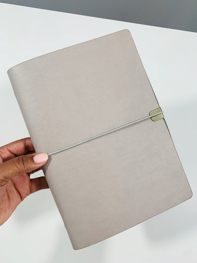 VEGAN LEATHER PLANNER