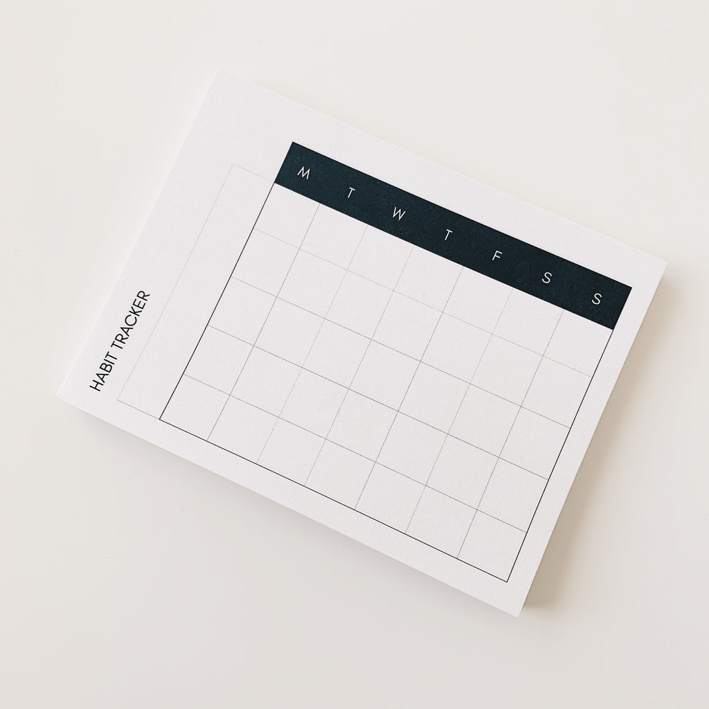 HABIT TRACKER STICKY NOTES