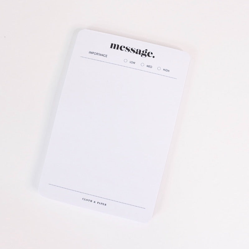 "!NEW! ""MESSAGE"" NOTEPAD"