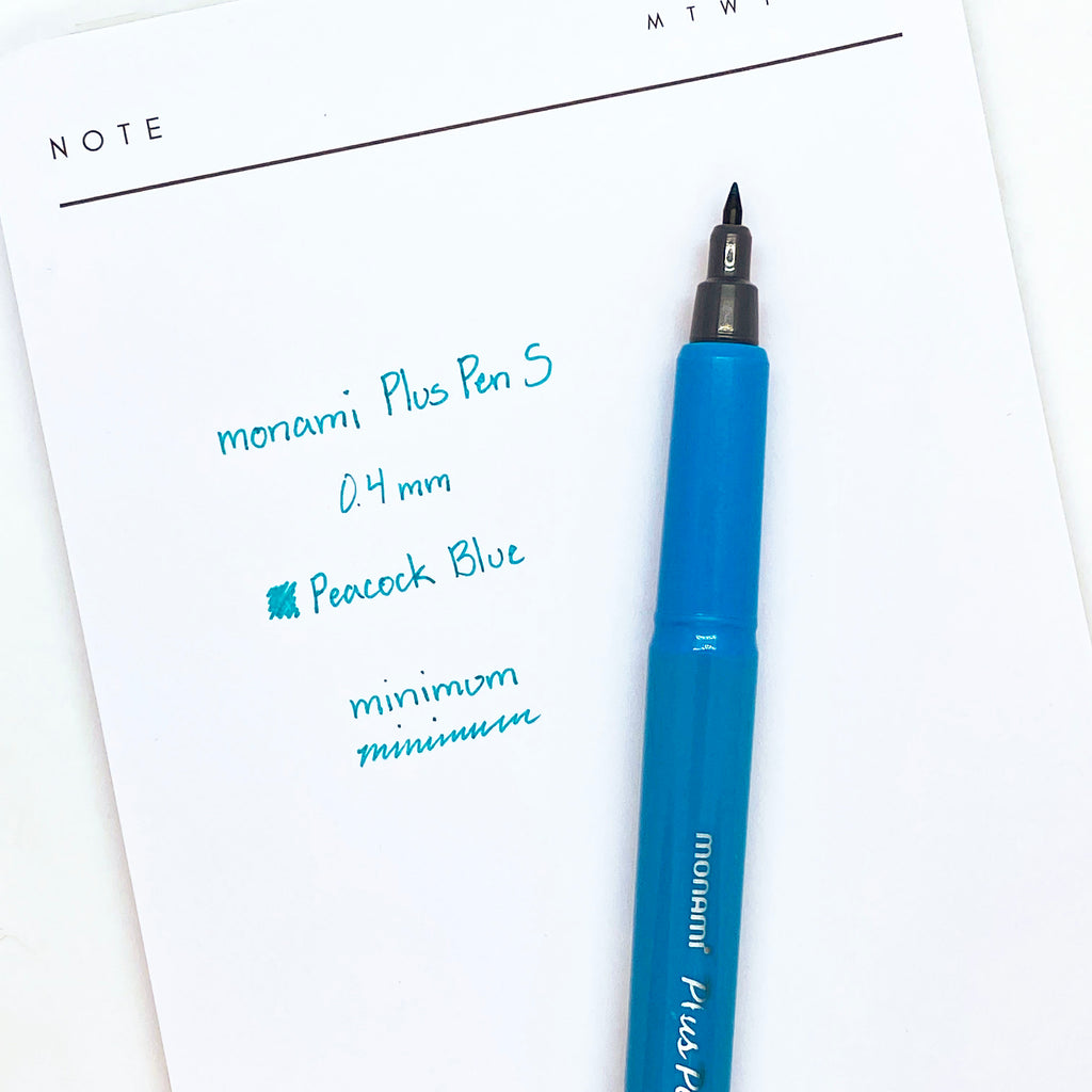 MONAMI PLUS PEN S | PEACOCK BLUE