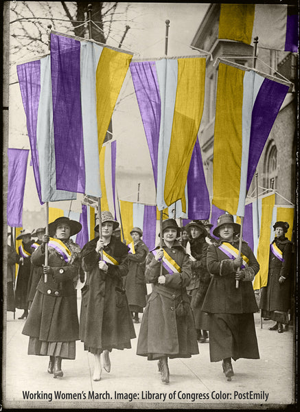 Working Women's Picket, February 1917