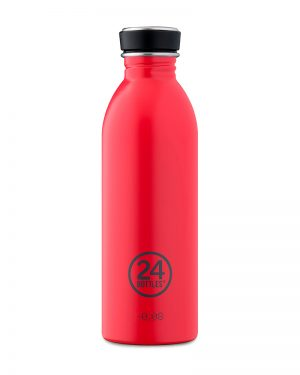24 Bottles Urban Hot Red - stilecollettivo