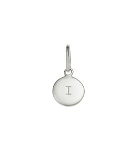 Little Kirstin Ash Circle Letter I Silver - stilecollettivo