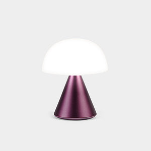 Lexon Mina Mini LED Lamp Dark Plum - stilecollettivo