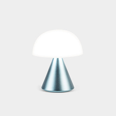 Lexon Mina Mini LED Lamp Light Blue - stilecollettivo
