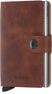 Secrid Mini Wallet Vintage Brown - stilecollettivo