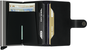 Secrid Mini Wallet Original Black - stilecollettivo